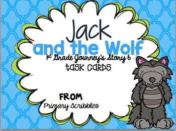 Journey's First Grade Unit 2 Bundle {Phonics and Vocab Task Cards}