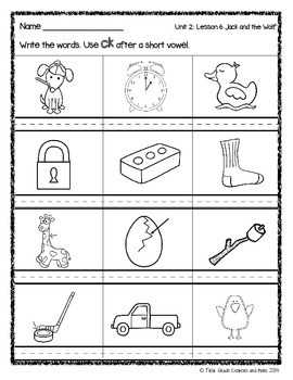 Jack and the Wolf: Journeys First Grade Unit 2 Lesson 6