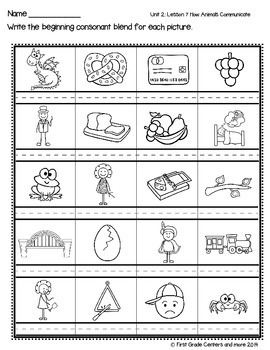 How Animals Communicate aligned with  Journeys First Grade Unit 2 Lesson 7