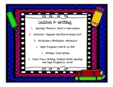 Journeys First Grade Unit 2 Lesson 9 Centers