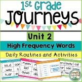 Journeys First Grade Unit 2 Sight Word Activities
