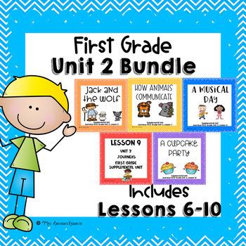 Journeys First Grade Unit 2 Supplemental Units Bundle