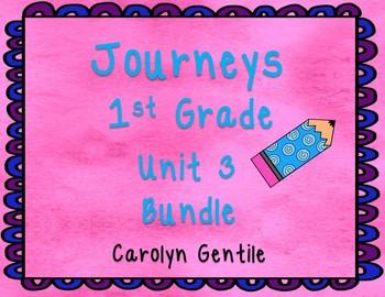 Journeys First Grade Unit 3 2012 Version Bundle