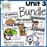 Journeys First Grade Unit 3 Bundle