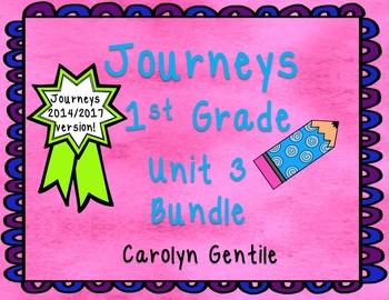 Journeys First Grade Unit 3 Bundle 2014/2017 Version
