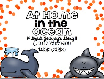 Journey's First Grade Unit 3 Bundle {Comprehension Task Cards}
