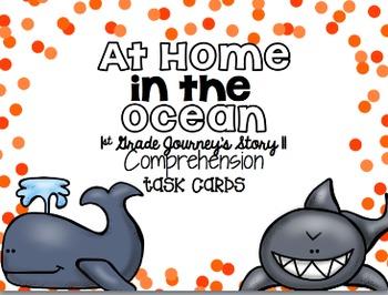 Journey's First Grade Unit 3 Bundle {Comprehension Task Cards}