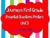 Journeys First Grade Unit 3 Essential Questions