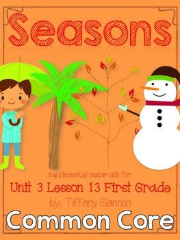Journeys First Grade Unit 3 Lesson 13 Seasons