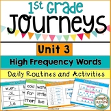 Journeys First Grade Unit 3 Sight Word Activities