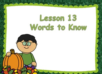 Journeys First Grade Unit 3 Words to Know PowerPoints