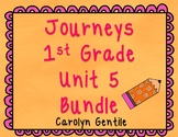 Journeys First Grade Unit 5 2012 Version Bundle