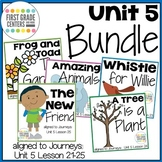Journeys First Grade Unit 5 Bundle