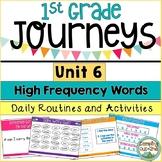 Journeys First Grade Unit 6 Sight Word Activities