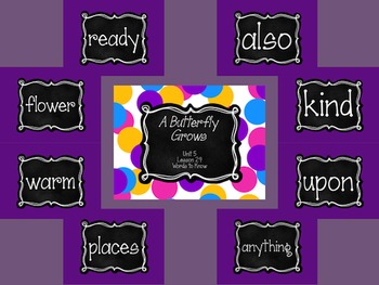 Journey's First Grade Unit 5: Sight Word PowerPoint Slideshows