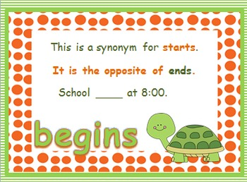 Journeys First Grade Unit 5 Words to Know PowerPoints