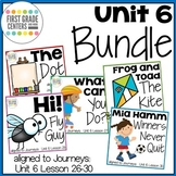 Journeys First Grade Unit 6 Bundle