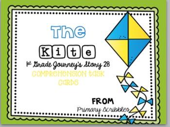 Journey's First Grade Unit 6 Comprehension Task Card Bundle Set