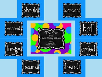 Journey's First Grade Unit 6: Sight Word PowerPoint Slideshows