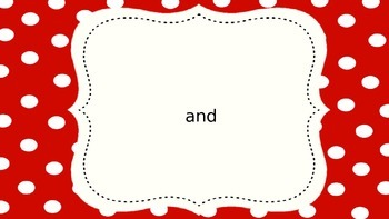 Journeys First Grade Unit One Sight Words