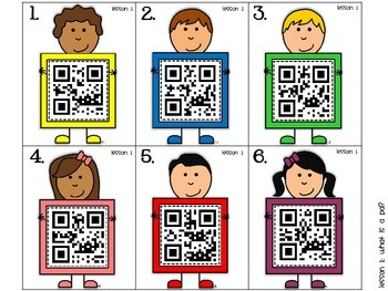 Journeys First Grade Vocabulary Supplements with QR Codes  DIFFERENTIATED