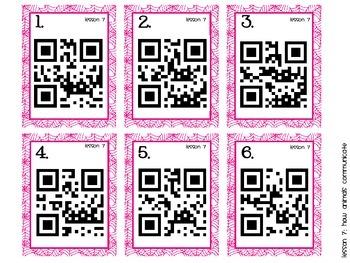 Journeys First Grade Vocabulary Supplements with QR Codes, Book 2 DIFFERENTIATED