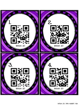 Journeys First Grade Vocabulary Supplements with QR Codes, Book 4 DIFFERENTIATED