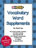 Journeys First Grade Vocabulary Words, Unit 2 DIFFERENTIATED