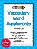 Journeys First Grade Vocabulary Words, Unit 4 DIFFERENTIATED