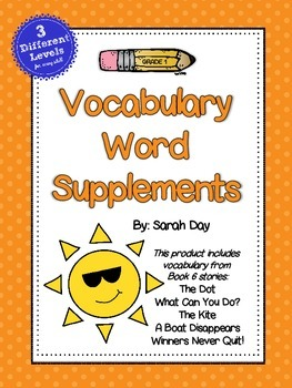 Journeys First Grade Vocabulary Words, Unit 6 DIFFERENTIATED