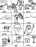 Journeys First Grade: Where Does Food: Unit 4/Lesson 18 /ay/ai/ SPELLING WORDS