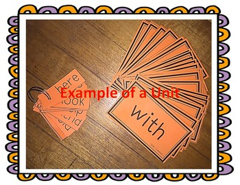 Journeys Flash Cards and Take Home Spelling Homework Unit 6 First Grade