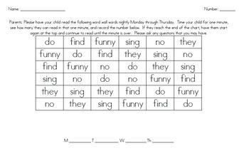 Journey's Fluency Drills