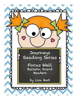 Journeys Focus Wall Bulletin Board Set