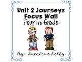 Journeys Focus Wall Fourth Grade Unit 2