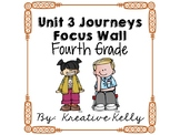 Journeys Focus Wall Fourth Grade Unit 3