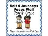 Journeys Focus Wall Fourth Grade Unit 4