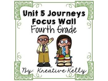 Journeys Focus Wall Fourth Grade Unit 5