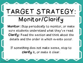 Grade 5 Journeys Focus Wall Lesson 4