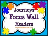 Journeys Focus Wall Headers ~ Puzzle Brights Theme