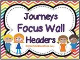 Journeys Focus Wall Headers ~ Rainbow Chevron