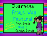 Journeys Focus Wall Posters Unit 5 First Grade