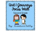 Journeys Focus Wall Second Grade Unit 1