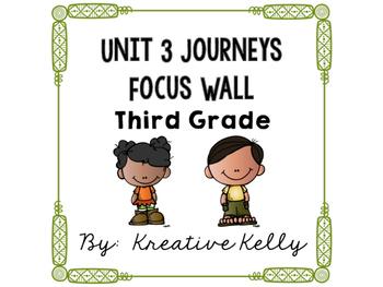 Journeys Focus Wall Third Grade Unit 3