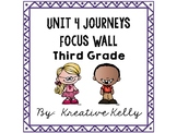 Journeys Focus Wall Third Grade Unit 4