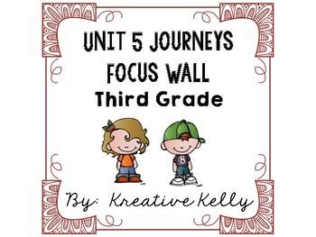 Journeys Focus Wall Third Grade Unit 5