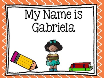 Journeys: Focus Wall - Unit 4 Lesson 18 - My Name is Gabriela