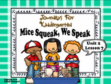 Journeys For Kindergarten Mice Squeak, We Speak Unit 2 Lesson 7
