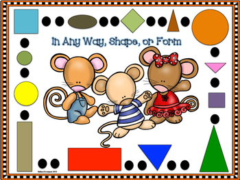 Journeys For Kindergarten Mouse Shapes Unit 2 Lesson 10