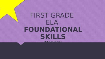 Journeys Foundational Skills Powerpoint Lesson 12